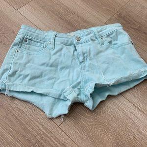 SzS light blue Jean Shorts